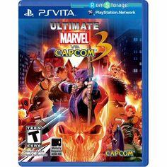 Ultimate Marvel vs Capcom 3 PSVITA VPK