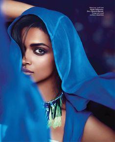 """Deepika Padukone."" Another beautiful dark-skin Indian actress that is being white-washed. Sad tho ;) #south #asian #girls"