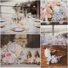 Blumen in Pastelltönen - Hochzeit ❤️