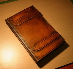 Leather case I made for my Kindle Fire. I couldn't find anything rustic enough on the market and I like working with leather so I made one.     The only e reading device you will need!