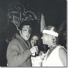 Elvis-party 1957