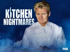 Kitchen Nightmares is an American reality television series broadcast on the Fox network, in which chef Gordon Ramsay is invited by the owners to spend a week with a failing restaurant in an attempt to revive the business.