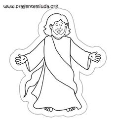 I am the light of the world Coloring Page Church Jesus