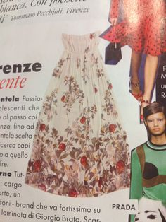 Semi Couture dress on Elle