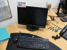 PC-Workstation - Insolvenz KA Trading Agrarprodukte Handels GesmbH - Karner & Dechow - Auktionen Office Equipment, Monitor, Furniture, Auction, Home Furnishings, Arredamento