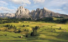 Poster XXL panoramique intissé « Alpen » (SH090-VD4) de Komar | Stefan Hefele