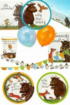 We all know, don't we, that there IS such a thing as a Gruffalo! A Gruffalo party is a favourite theme for little ones. Your guests will be enchanted by our Gruffalo party packs, tableware, filled party bags, toys, invitations and thank you notes and much more, all at scarily low prices. To view the full Gruffalo range, click here - https://www.partybagsandsupplies.co.uk/themes/the-gruffalo-party