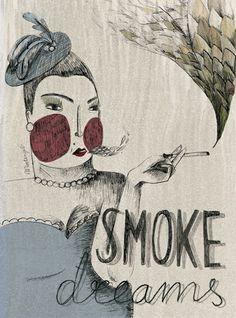 Women by Marta Angel, via Behance