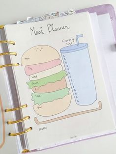 Bullet Journal Meal Planning