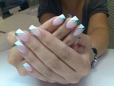 french nails tips Hairstyles French Nail Designs, Diy Nail Designs, French Nails, Halloween Toe Nails, Nagellack Design, Nails Polish, Long Acrylic Nails, Nagel Gel, Fabulous Nails