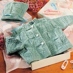 Bundles of Joy Knit Set - Free Pattern