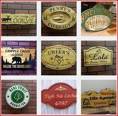 kevin (@cncsignmaker) | Twitter House Plaques, Wooden Cottage, Cottage Signs, Address Plaque, Xmas Gifts, Wood Signs, Bubbles, Carving, Twitter