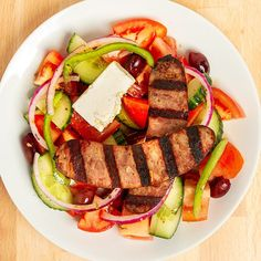 This hearty salad option at Greek Belly will leave you feeling full and refreshed. Best Dishes, Ratatouille, Missouri, Cobb Salad, Restaurants, Greek, Meals, Ethnic Recipes, Food