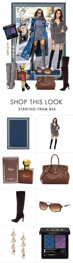 """""""Unbenannt #7784"""" by snowmoon ❤ liked on Polyvore featuring Free People, Ralph Lauren, Ralph Lauren Collection, Ralph by Ralph Lauren, Lauren Ralph Lauren, Gucci and Revlon"""