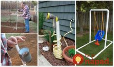 Úžasné nápady do vašej záhrady z obyčajných PVC rúrok. Možno sa pár kúskov nájde aj u vás doma - napríkald v garáži či v pivnici. Ukážeme vám skutočne perfektné nápady, ako si s nimi vylepšiť