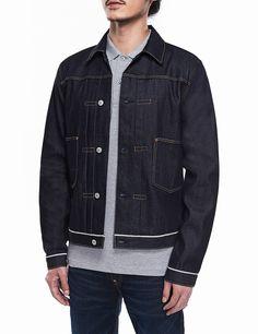 f2dc07479c71 EVISU x Selfridges 2 Pockets Denim Jacket Evisu Jeans