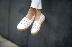 CHANEL espadrilles 2015 Cruise Collection | The Girl from Panama