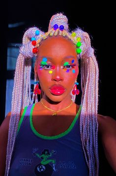 Black Girl Braided Hairstyles, Black Girl Braids, Girls Braids, Pretty Hairstyles, Black Girl Aesthetic, Aesthetic Hair, Baddie Hairstyles, Girl Hairstyles, Curly Hair Styles