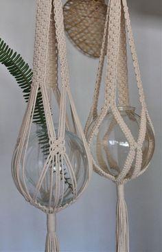Vintage Macrame Plant Hanger Ideas 1
