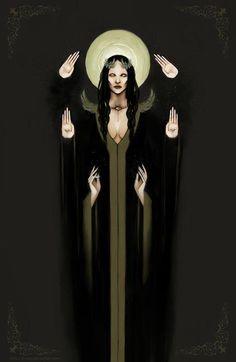 Hekate image - beautiful but odd