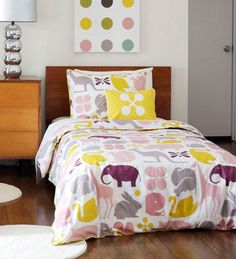 Dwell Studio  Gio Lemon Duvet Collectino, Love These Colors Good Looking
