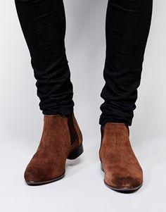 ASOS+Chelsea+Boots+in+Suede