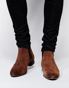 Enlarge ASOS Chelsea Boots in Suede