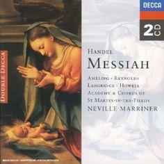 Haendel : Le Messie (Coffret 2 CD): MARRINER NEVILLE / ACADEMY OF MUSICA CLASICA INTERNATIONAL Cet article Haendel : Le Messie (Coffret 2…