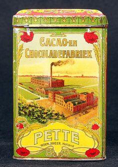 Cacao en Chocoladefabriek. Pette Wormerveer.