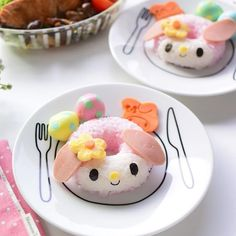 My melody donut riceball  for the midweek.  throwback to my character donut riceball creation. Have made quite a number of them, you prob seen them some time back.  What other characters would you like?  #mymelody #melody #littlemissbento #riceball #onigiri #donut #kawaii #plateplate #kawaiifood #kyarafood #edibleart #huffposttaste #yahoofood #キャラフード #可愛い #手作り #eyecandysorted