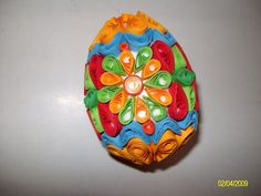 Image detail for -Quilling quilled Easter egg paper filigreeКвилинг ...