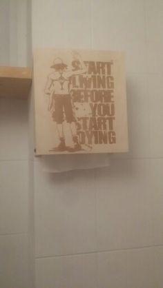 화장실 핸드타올 케이스