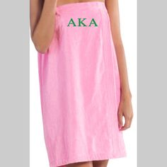 Alpha Kappa Alpha spa wrap