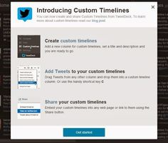 How to organize your tweets in #customtimelines. #Twitter   Social Media, Software, Web on End of Line Magazine Application Development, Timeline, Over The Years, Social Media Marketing, Organize, Software, Knowledge, Science, Ads