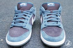 Nike SB Dunk Low Pro 'Slate Blue'   http://www.facebook.com/DressShoesandSneaker  http://dressshoesandsneakers.tumblr.com/