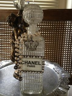 The Chanel bottle.
