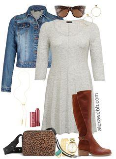 861bf1a6688 Plus Size Sweater Dress Outfits. Big Girl FashionCurvy Women ...