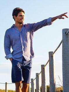 PANAREHA® KAPALUA Linen Shirt #panareha #wheresummeris #summerstyle #summer #summerwear #men #shirts