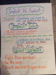 vs implicit
