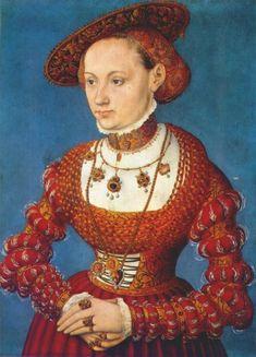 Anna Von M - cranach the Younger c.1543