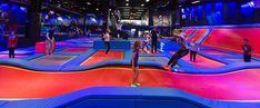 Rush trampolinepark i Trondheim. Velkommen til et eldorado av innendørs trampoliner!