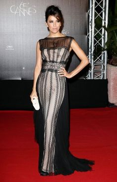 Eva Longoria at the Cannes opening night dinner. May 2012