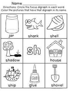 Printables Ch Sound Worksheets student the ojays and ph on pinterest digraph worksheets sh ch th wh ee oo