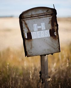 Pictures of Old Rustic Mailboxes (The Anderson's old Mailbox by Avey Christiansen)