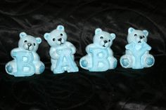Baby Blue Bears by TrulyQuirkyMe on Etsy, £20.00