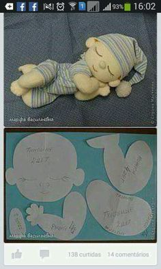 Surprising things you can do with baking soda Rag Doll Tutorial, Doll Making Tutorials, Yarn Dolls, Fabric Toys, Sewing Dolls, Soft Dolls, Stuffed Toys Patterns, Handmade Toys, Doll Patterns