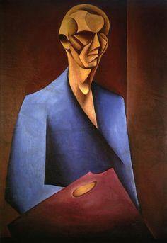 Self Portrait with Palette 1920 Szczuka, Mieczysław Selfies, Roland Barthes, Constructivism, Typographic Design, Photomontage, Dark Art, Aurora Sleeping Beauty, Art Deco, Symbols