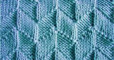 Knitted in a multiple of 12 sts and 16-row repeat.  Row 1: * K1, p5, k5, p1; repeat from * to the end.  Row 2: * K2, p4, k4, p2; repeat fr...