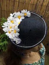 Chapeau Jules Handmade Plumes Rose Chapeau Goodwood Ascot Mariage