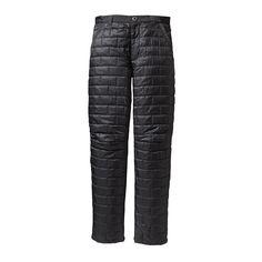 アウトドアウェアを製造、販売しているパタゴニア(patagonia)のオンラインショップ。メンズ・ナノ・パフ・パンツを販売しています。